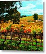 The Winemakers Residence Metal Print