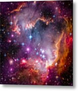 The Wing Of The Small Magellanic Cloud Metal Print