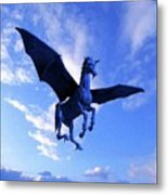 The Winged Horse Metal Print