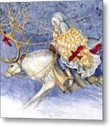 The Winter Changeling Metal Print by Janet Chui