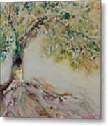 The Wisdom Tree Metal Print