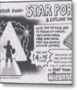Wizbang Star Portal Metal Print