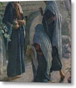 The Women At The Sepulchre Metal Print