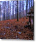 The Wood A La Magritte - Il Bosco A La Magritte Metal Print