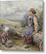 The Woodcutter's Children Metal Print