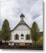 The Woodrow Union Church In Paw Paw West Virginia Metal Print