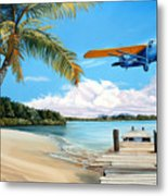 The Woolaroc Metal Print by Kenneth Young