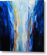 The Word Made Flesh, God Poured Out Metal Print