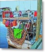 The Work Boat Metal Print