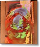 The World As I See It Metal Print