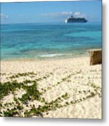 The World In Turks And Caicos  Metal Print