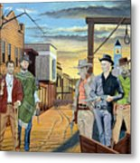 The World Of Classic Westerns Metal Print