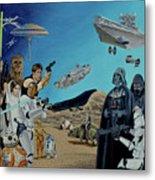 The World Of Star Wars Metal Print