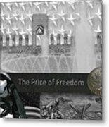 The World War II Memorial Metal Print