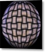 The World Weaved Together Metal Print