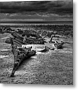The Wreck Of The Steam Trawler Metal Print