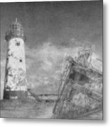 The Wrecks  Metal Print