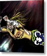 The Wrestler Metal Print