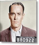 The Wrong Man, Henry Fonda, 1956 Metal Print