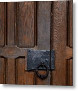The Wrought Iron Handle Metal Print