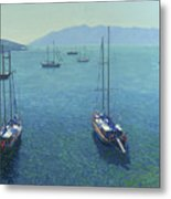 The Yachts Metal Print