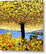 The Yellow Ceiling Metal Print