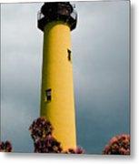 The Yellow Lighthouse Metal Print