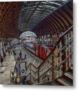 The York Train Station Metal Print
