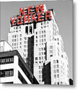 The Yorker Metal Print