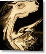 The Young Pegasus Metal Print