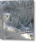 The Zen Of Bridge 5 Metal Print