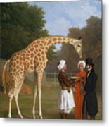 The Zoological Garden Metal Print