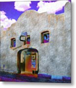 Theater Night Mesilla Metal Print