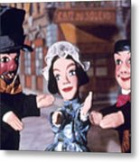 Theater: Puppet Characters Metal Print