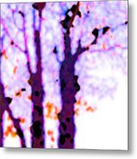 Thee Trees Metal Print