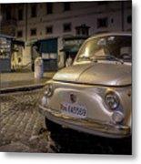 The Fiat 500 Metal Print