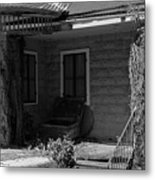 Their House Is In Dulac Metal Print