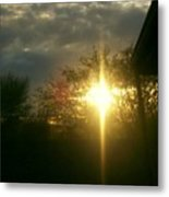 Then There Was Light Metal Print