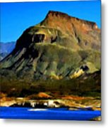 Theodore Roosevelt Lake Arizona  Metal Print
