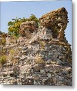 Theodosian Walls - View 1 Metal Print