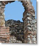 Theodosian Walls - View 17 Metal Print