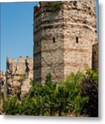 Theodosian Walls - View 3 Metal Print