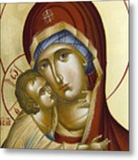 Theotokos Metal Print by Julia Bridget Hayes