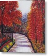 There Is Always A Bright Road Ahead Metal Print