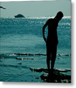 There Is Always A Watcher  Metal Print