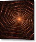 There Is Light At The End Of The Tunnel Metal Print