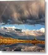 Theres A Rainbow In Every Storm Metal Print
