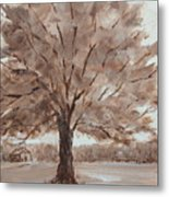 There's A Tree Metal Print