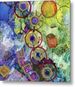 There's Always A Blue Thread Through It Metal Print
