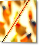 Thermometer Whigh Fever Metal Print